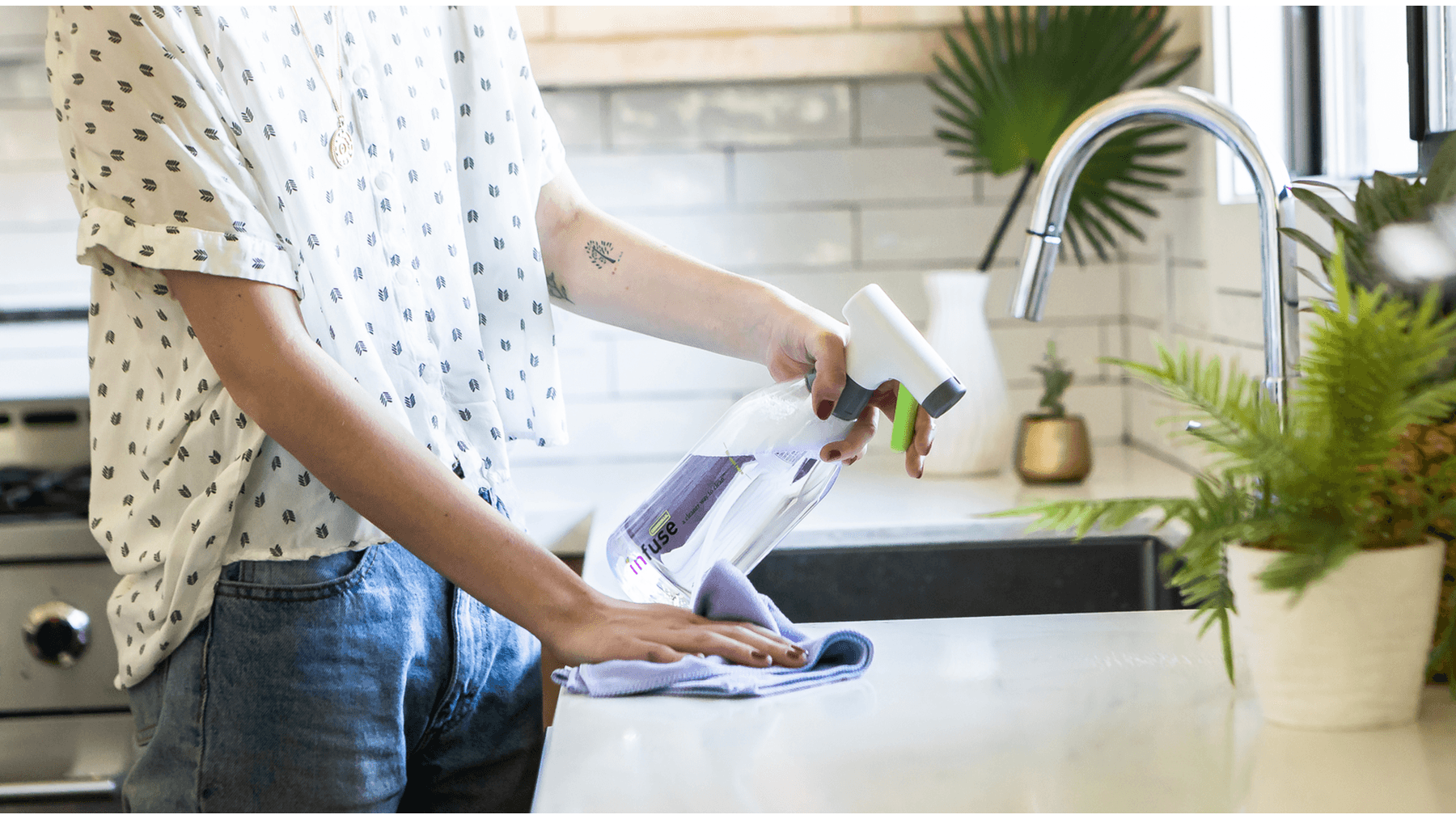 Keep Dust and Allergens at Bay This Spring with Infuse Cleaning System